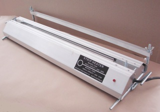 Strip heater for forming acrylic